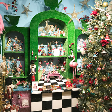 Alice in Wonderland - Christmas Display