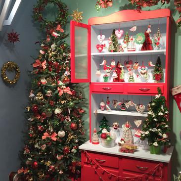 Retro Kitchen - Christmas Display