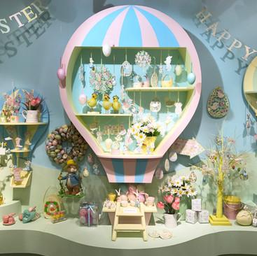 Hot Air Balloon - Easter Display