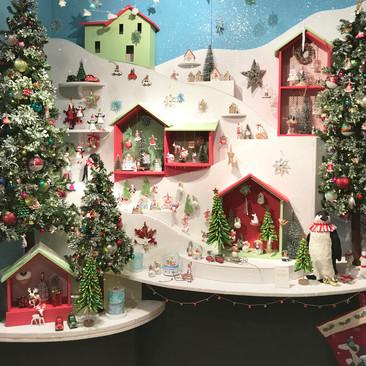 Ski-time - Christmas Display