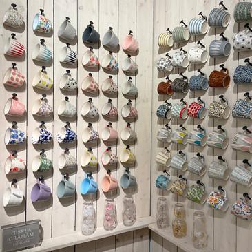 Mugs Wall Display