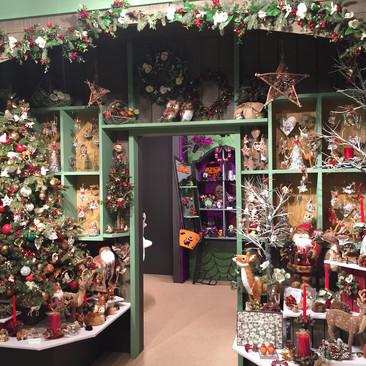 Winters Lodge - Christmas Display