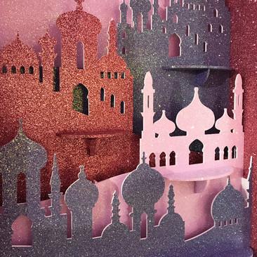 Morocco Silhouette - Christmas Display