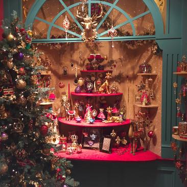 Window Shopping - Christmas Display