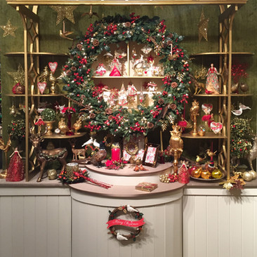 Doves and Roses - Christmas Display