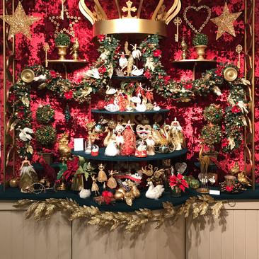 Seven Swans - Christmas Display