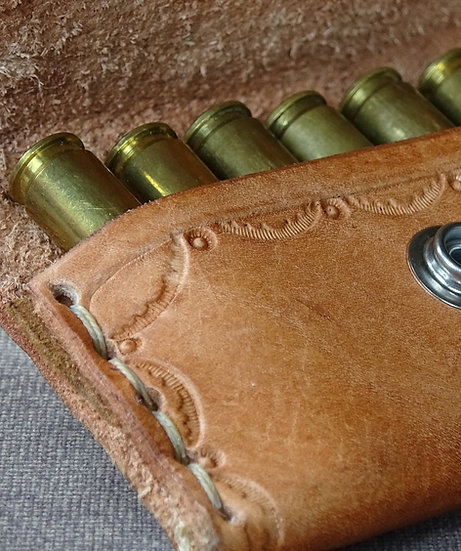 Hand-Made Leather Ammo Belt