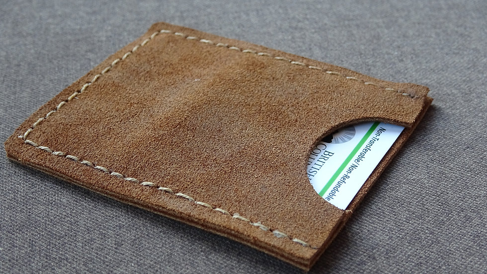Leather Hunting Tag Holder