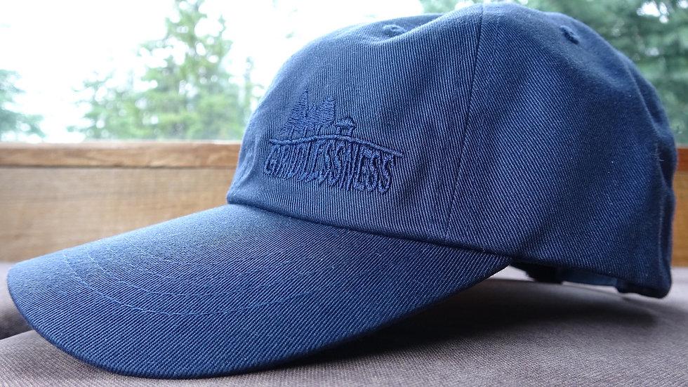 Blue Gridlessness Cap