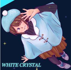 WHITE CRYSTALシングルジャケット