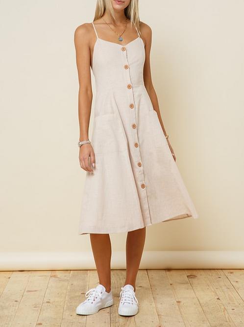 Whitney Linen Dress