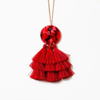 Red Tassel Chain