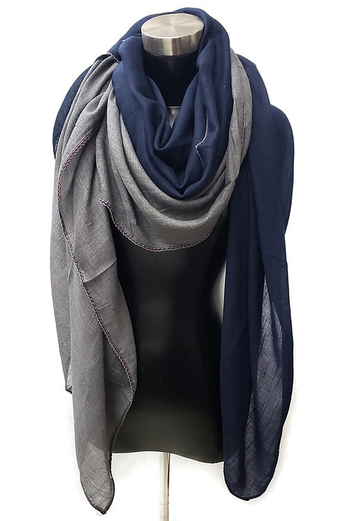 2 Tone Scarf (Avail in Colors)