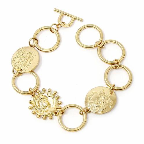 Millie Coin Bracelet