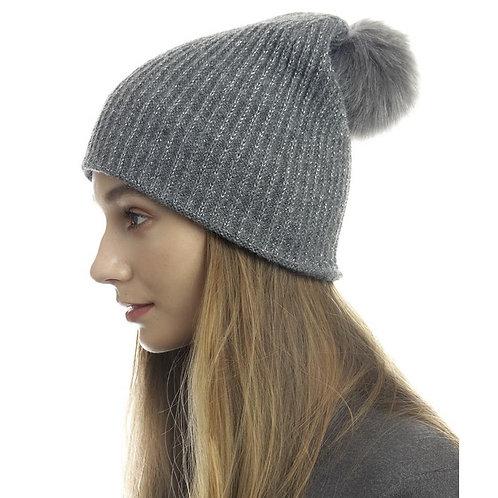 Farah Hat (Gry & Blk)