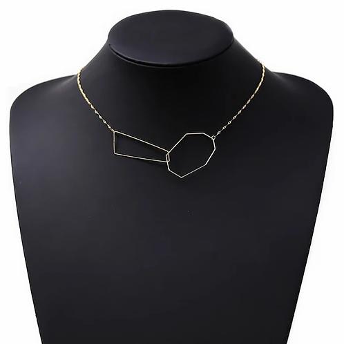 Geo Link Necklace