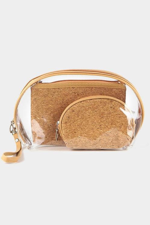 Cork Makeup Bag