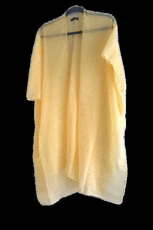 Canary Yellow Kimono
