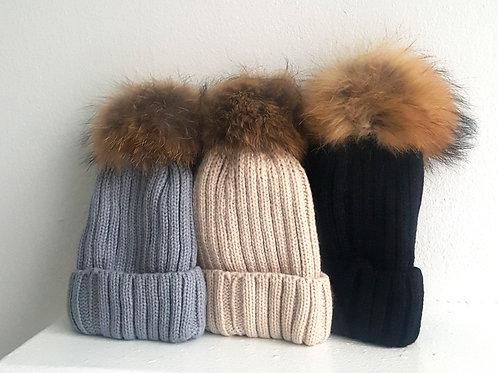 Gia Pom Pom Hat