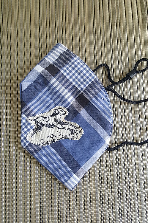 Puppy Toile Mask