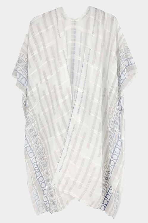 Geo Sheer Kimono