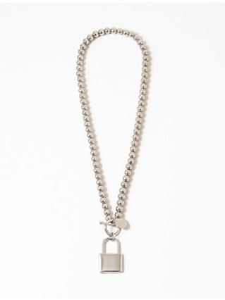 Silver Lock Chain