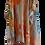 Thumbnail: Tangerine Abstract Kimono