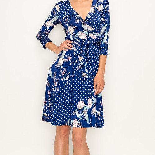 Chrissie Wrap Dress