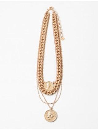 Multi Coin Necklace