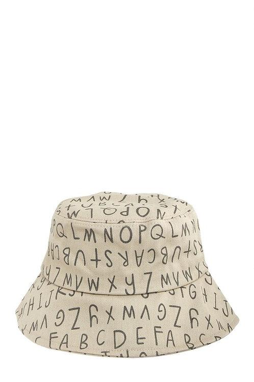 Letter Bucket Hat
