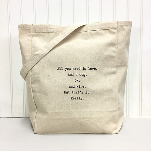 All You Need Tote