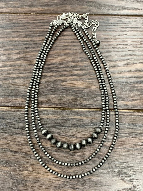 Uma Multistrand Necklace