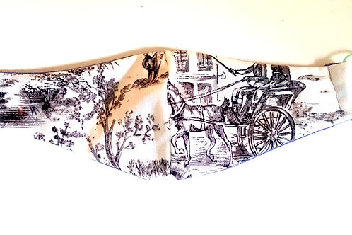 Horse & Carriage Mask