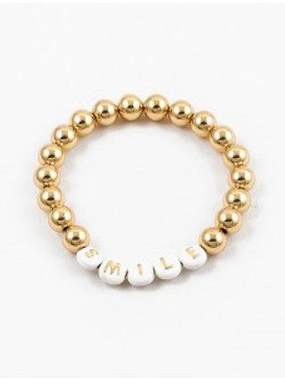 Gold Smile Bracelet