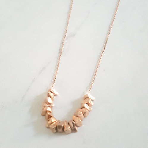 Gold Cluster Chain