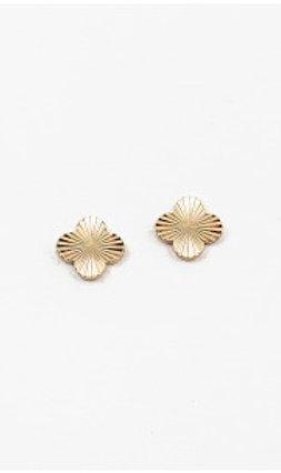 Clover Earring (Gld/Slvr)