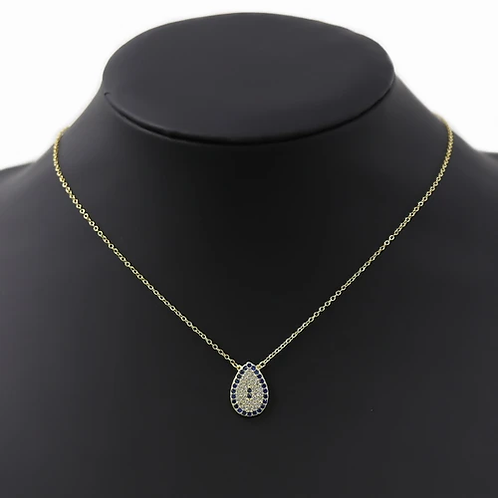 Evil Eye Drop Necklace