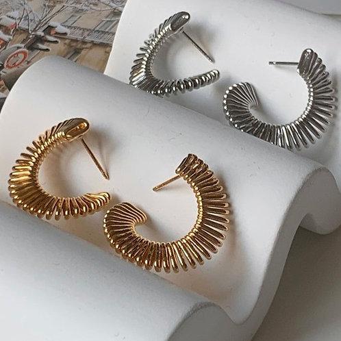 Valei Earring (Gld/Slvr)