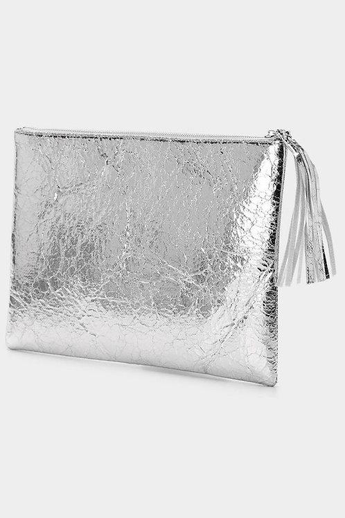 Metallic Clutch (Gld/Slvr)