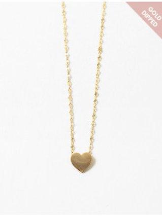 Gold Heart Chain