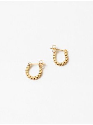 Mina Chain Earring  (Gld or Slvr)