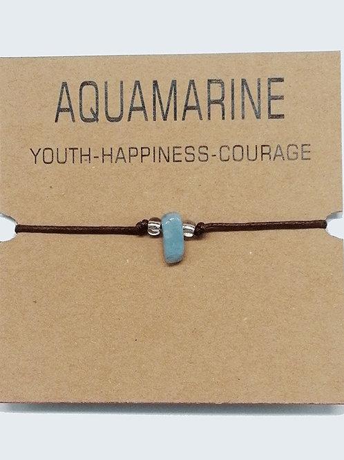 Healing Bracelet/Aqua marine