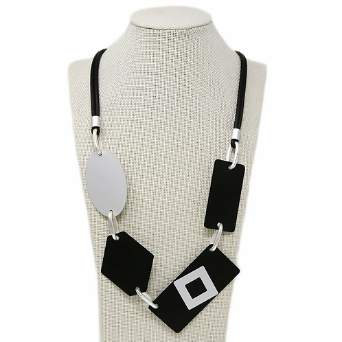 MRez Block Necklace