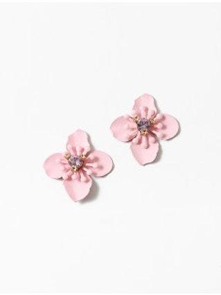 Pink Petal Earring