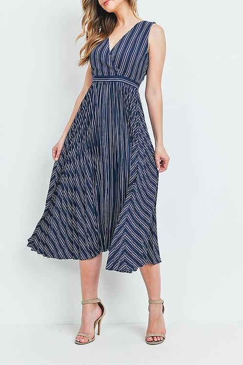 Kara Pleated Dress