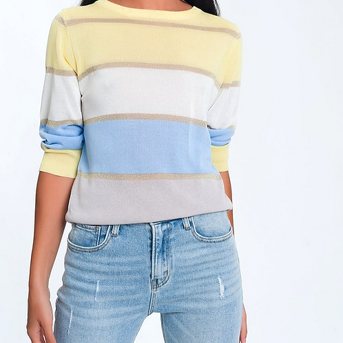 Vela Stripe Knit Sweater