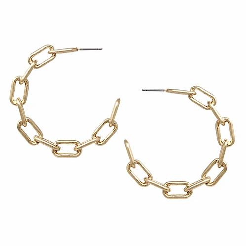 Chain Link Earring