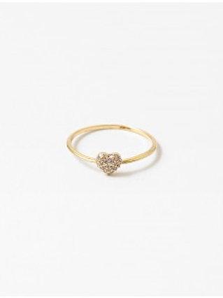 Little Heart Ring (Gld/Slvr)