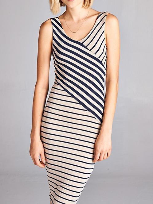 Tori Stripe Dress