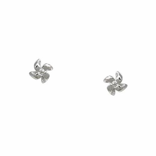 Pinwheel Stud Earring